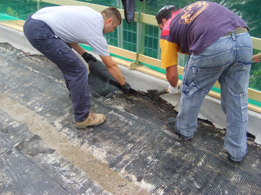 Impermeabilizzazione terrazza condominiale - Roma